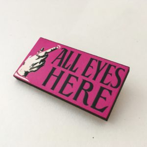 All Eyes Here Brooch